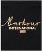 Girl's Barbour International Reine L/S Tee - Black