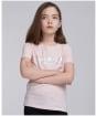 Girl's Barbour International Montegi Tee - Pink Frost