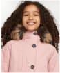 Girl's Barbour Walkworth Waterproof Jacket - Secret Pink