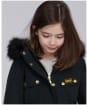Girl's Barbour International Wanneroo Jacket - Black