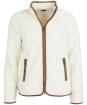 Women's Barbour Lavenham Fleece Jacket - Winter Pearl