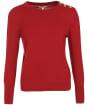 Women's Barbour Culloden Knit - Dark Crimson