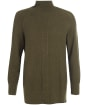 Women's Barbour Featherhall Knit - Military Olive
