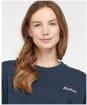 Women's Barbour Rosie Lounge Crew Sweater - Navy