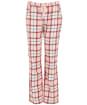Women's Barbour Phoebe PJ Set - Red / Pink Tartan