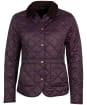 Women's Barbour Deveron Quilted Jacket - Elderberry