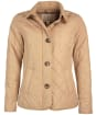 Women's Barbour Forth Quilted Jacket - Hessian