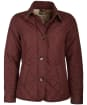 Women's Barbour Forth Quilted Jacket - Dark Plum