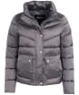 Women's Barbour International Zolder Quilted Jacket - Chrome