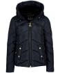 Women's Barbour International Motegi Quilted Jacket - Black