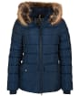 Women's Barbour Bayside Quilted Jacket - Navy