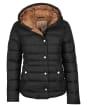 Women's Barbour Zetland Quilted Jacket - Black
