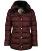 Women's Barbour Fortmartine Quilted Jacket - Dark Plum
