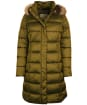 Women's Barbour Crinan Quilted Jacket - Military Olive