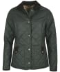 Women's Barbour Snowhill Quilted Jacket - Olive