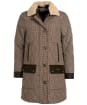 Women's Barbour Killhope Quilted Jacket - Dark Stone Check