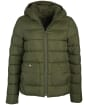Women's Barbour Oaktree Quilted Jacket - Olive