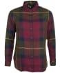 Women's Barbour Moorland Shirt - ELDERBERRY CHK