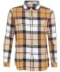 Women's Barbour Moorland Shirt - HONEY MUSTD CHK