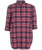 Women's Barbour Windbound Shirt - FUCHSIA CHECK