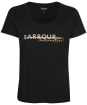 Women's Barbour International Chicane Tee - Black