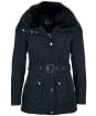 Women's Barbour International Bowden Waterproof Jacket - Dark Navy