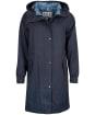 Women's Barbour Hauxley Waterproof Jacket - Navy