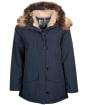 Women's Barbour Warkworth Waterproof Jacket - Navy