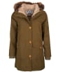 Women's Barbour Foxton Waterproof Jacket - Nori Green