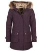 Women's Barbour Hebden Waterproof Jacket - Elderberry