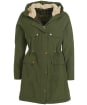 Women's Barbour Swinley Waterproof Jacket - Olive