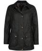 Women's Barbour Fiddich Waxed Jacket - Black