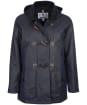 Women's Barbour Merlin Wax Jacket - Royal Navy