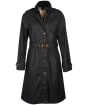 Women's Barbour Pastoral Waxed Jacket - Dark Navy