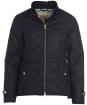 Women's Barbour Henderland Wax Jacket - Dark Navy