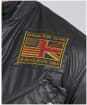 Men's Barbour International Steve McQueen Vintage Joshua A7 Casual Jacket - Black