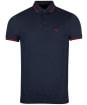Men's Barbour Farlane Tipped Polo Shirt - Navy