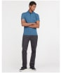 Men's Barbour Gilmore Polo Shirt - Dark Denim