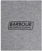 Men's Barbour International Accelerator Block Polo Shirt - Anthracite Marl