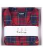 Men's Barbour Laith PJ Set - Red Tartan