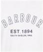 Men's Barbour Calvert Tee - White