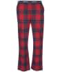 Men's Barbour Glenn Tartan Trousers - Red Tartan