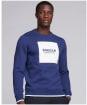 Men's Barbour International Scortch Crew Neck Sweater - Regal Blue