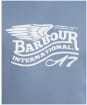 Men's Barbour International Legacy A7 Sweater - Washed Blue