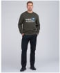 Men's Barbour International Legacy A7 Sweater - Forest
