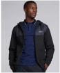 Men's Barbour International Accelerator Zip Hoodie - Black