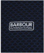 Men's Barbour International Accelerator Hoodie - Black Print