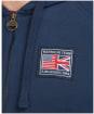 Men's Barbour International Steve McQueen Team Badge Hoodie - Navy