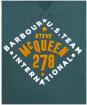 Men's Barbour International Steve McQueen Sweat - DEEP GREEN