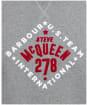 Men's Barbour International Steve McQueen Sweat - Grey Marl